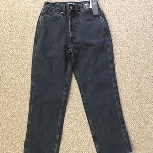 NWT Abercrombie Annie High Rise Ankle Straight